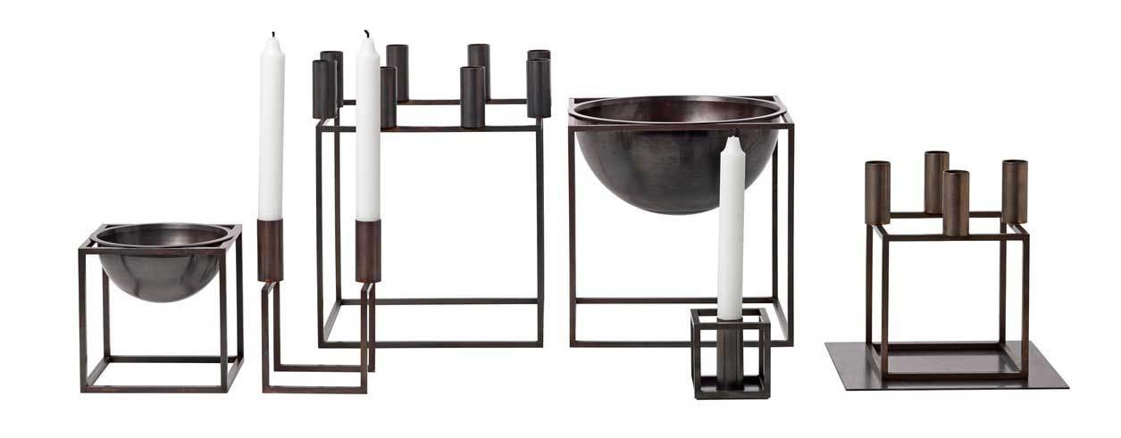 by lassen kubus 1 burnished copper interi rbutikken. Black Bedroom Furniture Sets. Home Design Ideas
